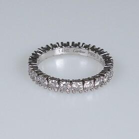 Cartier timanttisormus